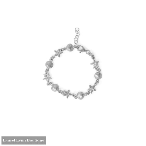 6.5+1 Shell and Starfish Bracelet - 23599 - Liliana Skye