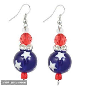 All for America Earrings #5116 - 5116 - Kate & Macy