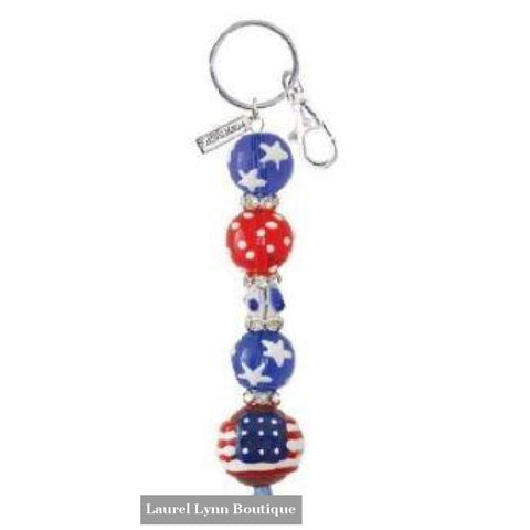 All for America Keychain #6003 - 6003 - Kate & Macy