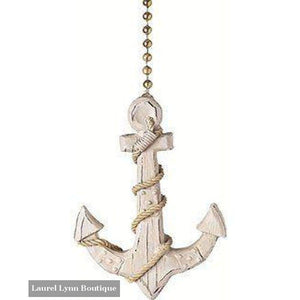 Anchor Fan Pull #334 - Clementine Design - Blairs Jewelry & Gifts