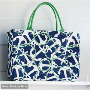 Anchor Tote by Mud Pie - Mud-pie