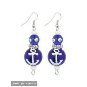 Anchors Away Earrings #5144 - 5144 - Kate & Macy