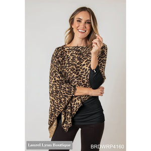 Animal Print Bordeaux Wrap - 5Bee1A0463F71 - Simply Noelle