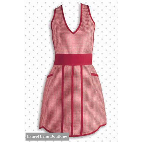 Apron - Red Gingham - Blairs Jewelry & Gifts - Blairs Jewelry & Gifts