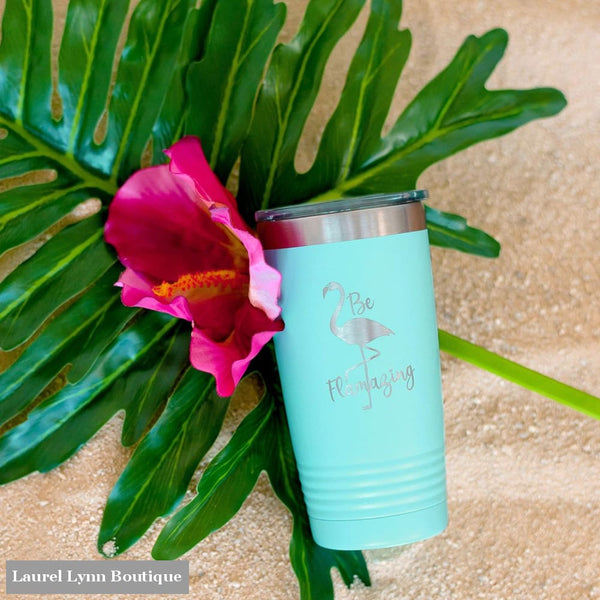 Be Flamazing Tumbler - TWB20-FLAMAZ-TEAL - Viv & Lou