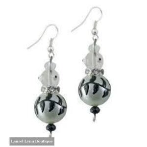 Black Birds Earrings #5184 (Discontinued) - 5184 - Kate & Macy