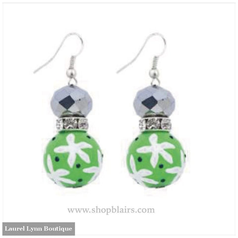 Blue & Green Dream Earrings #5300 - 5300 - Kate & Macy