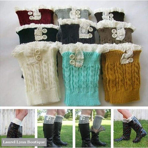 Boot Cuffs With Buttons - Dh Gate - Blairs Jewelry & Gifts