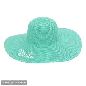 Bride Floppy Hat - Mint - M180VL-MINT-BRIDE - Viv & Lou