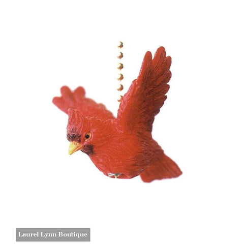 Cardinal Fan Pull - Clementine Design - Blairs Jewelry & Gifts