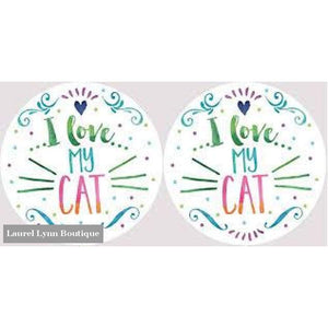 Cat Car Coaster Set #4050 - Clementine Design - Blairs Jewelry & Gifts