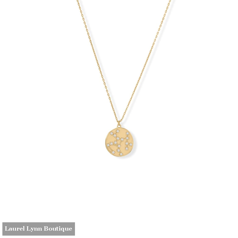 Cosmic Constellations! 16 + 2 Sagittarius Coin Necklace - 34375-SAG - Liliana Skye