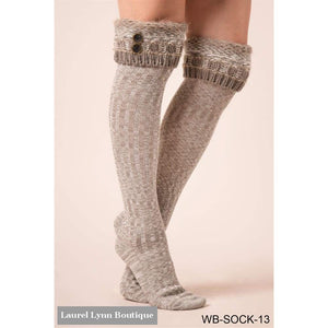 Cottage Collection Knit Boot Socks - Simply Noelle - Blairs Jewelry & Gifts