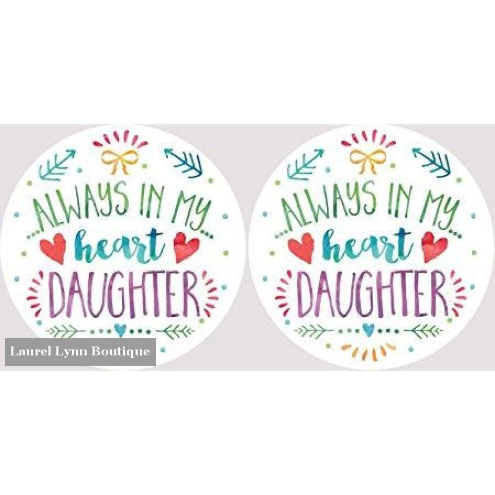 Daughter Car Coaster Set #4060 - Clementine Design - Blairs Jewelry & Gifts