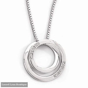 Diamond Circle Necklace - Quality Gold - Blairs Jewelry & Gifts