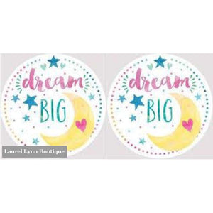 Dream Big Car Coaster Set #4057 - Clementine Design - Blairs Jewelry & Gifts