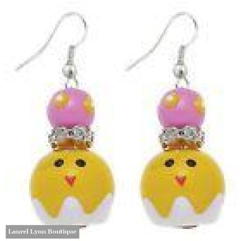 Easter Chick Earrings #5252 - 5252 - Kate & Macy