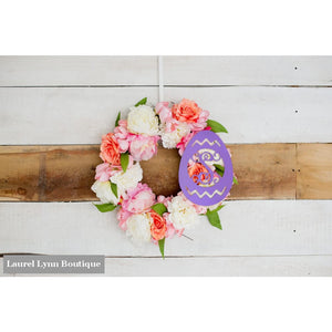 Easter Egg Monogram Wall Art - ALWD-EGG - Viv & Lou
