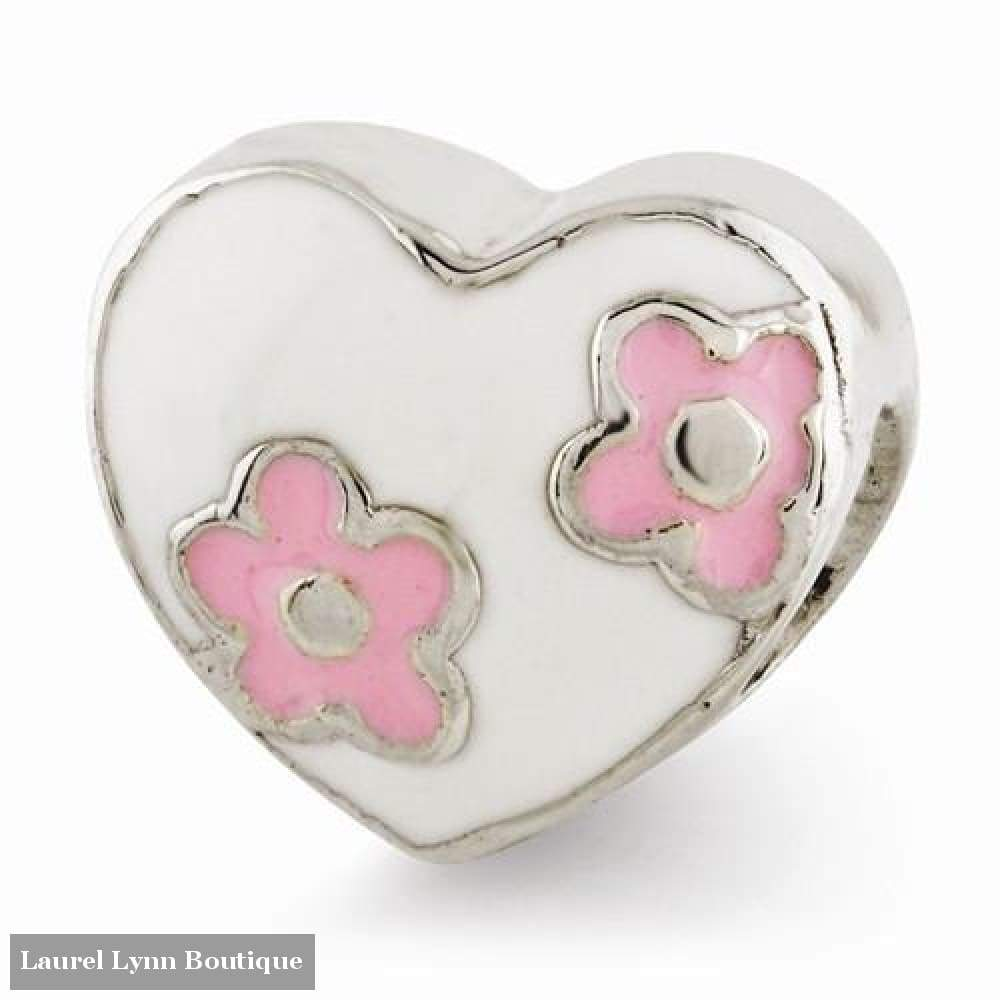 Enamel Heart - Qrs2936 - Reflection Beads - Blairs Jewelry & Gifts