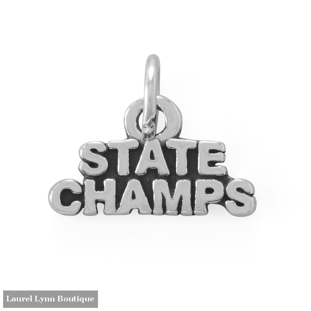Go Team! Oxidized State Champs Charm - 74573 - Liliana Skye