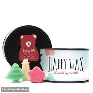 Holiday Mix Wax Melts - Happy Wax - Blairs Jewelry & Gifts