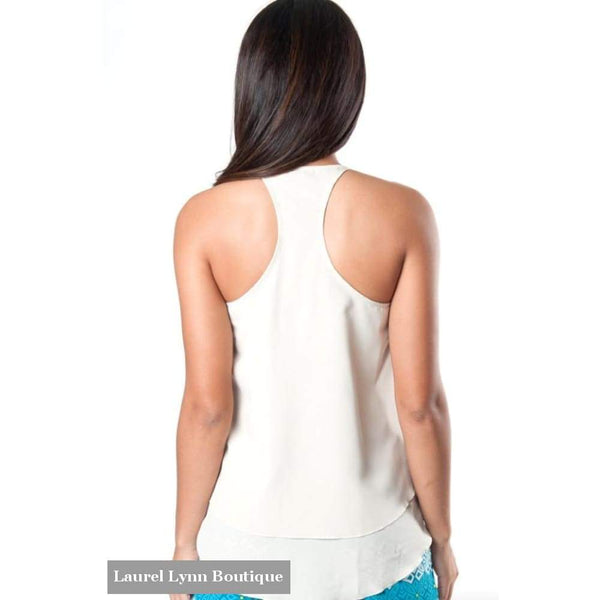 Kora Racerback Tank - Sand - All For Color - Blairs Jewelry & Gifts