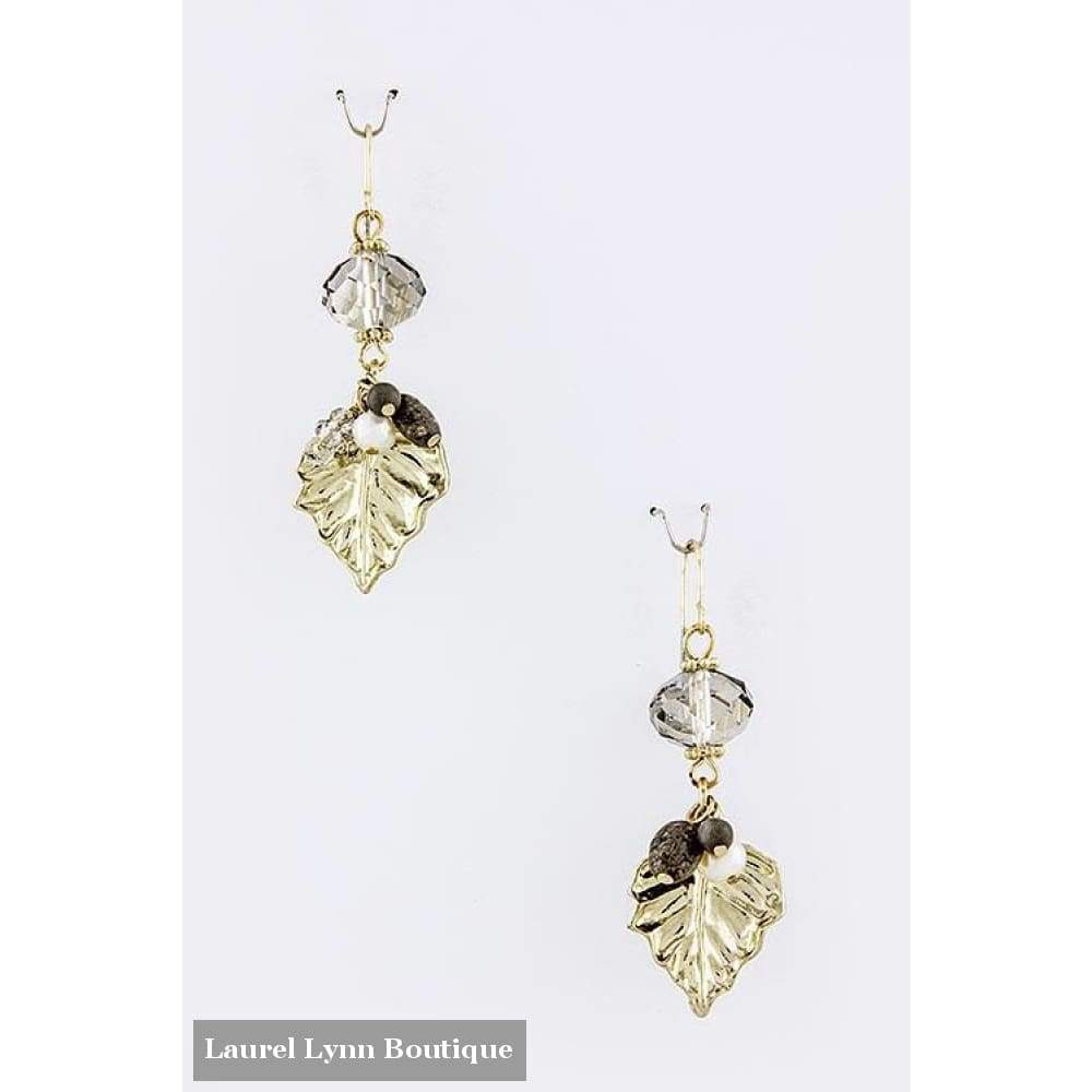 Leaf Dangle Earrings - Blairs Jewelry & Gifts - Blairs Jewelry & Gifts