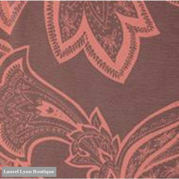 Leaf Motif Bordeaux Wrap - Mauve - B67 - Simply Noelle - Blairs Jewelry & Gifts