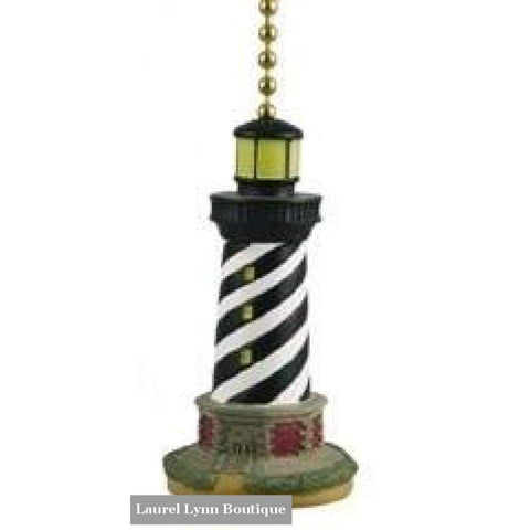 Lighthouse Fan Pull - Clementine Design - Blairs Jewelry & Gifts