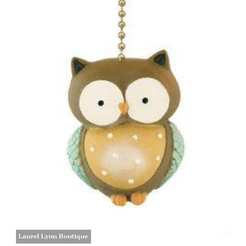 Little Owl Fan Pull #308 - Clementine Design - Blairs Jewelry & Gifts