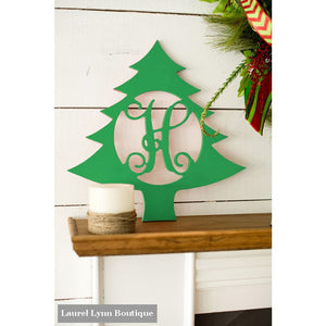 Monogram Wall Art - Christmas Tree - ALWD-TREE - Viv & Lou
