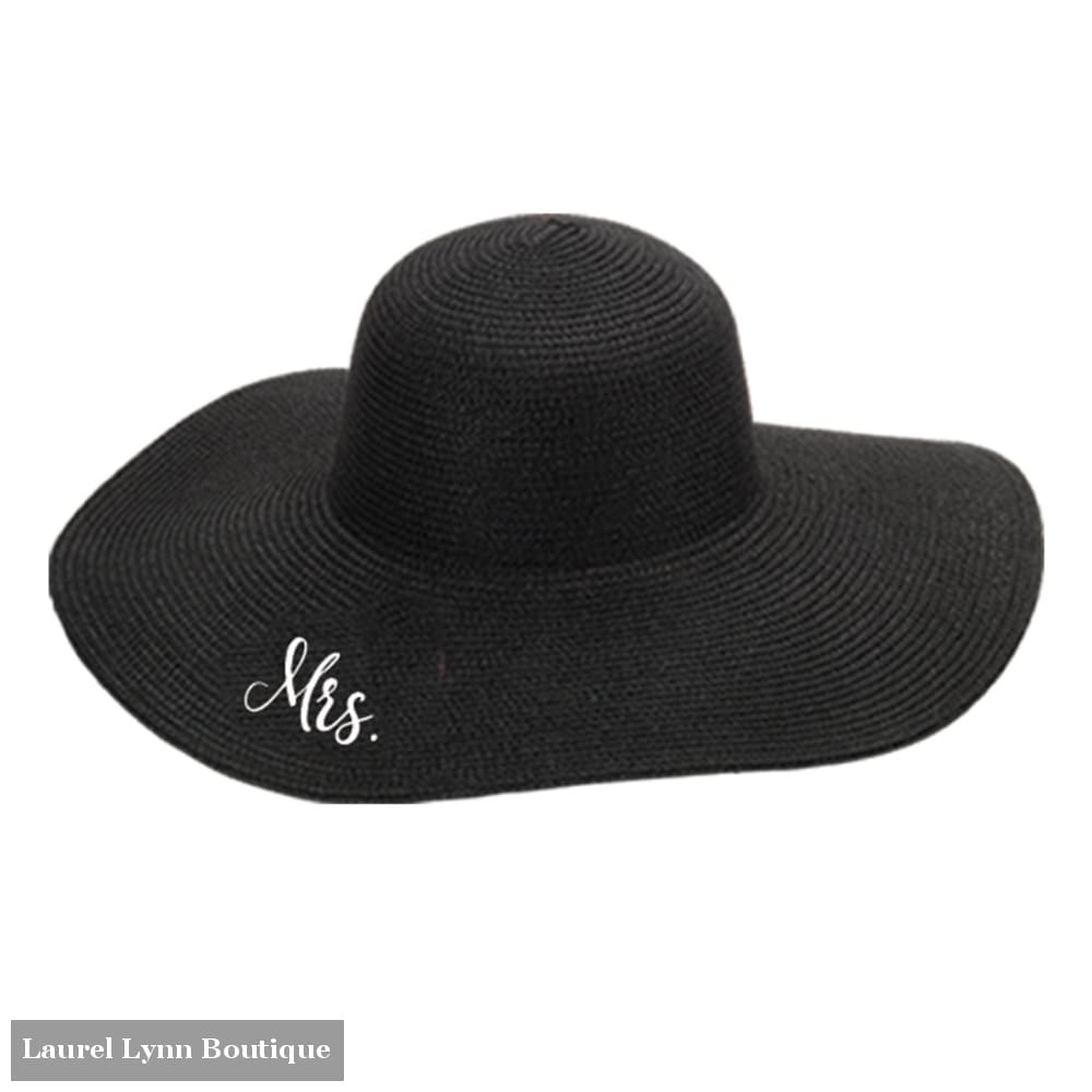 Mrs. Floppy Hat - Black - M180VL-BLK-MRS - Viv & Lou