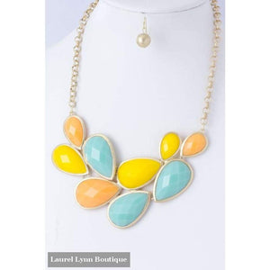 Multi-Color Statement Necklace - Blairs Jewelry & Gifts - Blairs Jewelry & Gifts