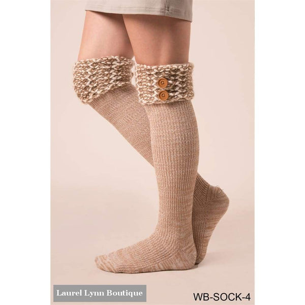 Nantucket Boot Socks - Simply Noelle - Blairs Jewelry & Gifts