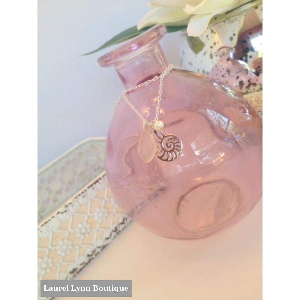 Nautilus Charm Necklace - Laurel Lynn Jewelry - Blairs Jewelry & Gifts