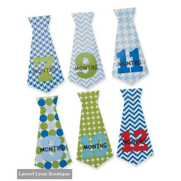 Necktie Milestone Stickers - Mud-Pie - Blairs Jewelry & Gifts