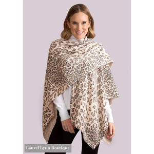 On The Wild Side Bordeaux Cardi Wrap - Select A Color - Simply Noelle - Blairs Jewelry & Gifts