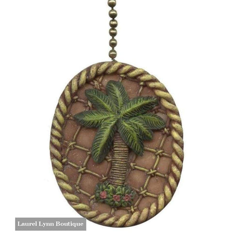 Palm Tree Fan Pull - Clementine Design - Blairs Jewelry & Gifts