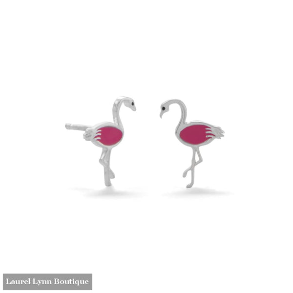 Pink Flamingo Earrings - 66357 - Liliana Skye
