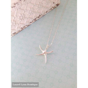 Polished Starfish Necklace - Laurel Lynn Jewelry - Blairs Jewelry & Gifts