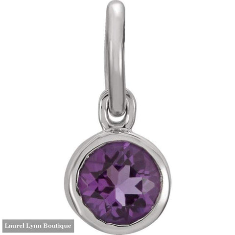 Posh Mommy Birthstone Charm - Stuller - Blairs Jewelry & Gifts