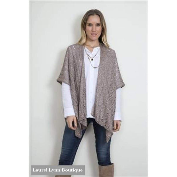Rapunzel Cardi Wrap - Coffee - C63 - Simply Noelle - Blairs Jewelry & Gifts