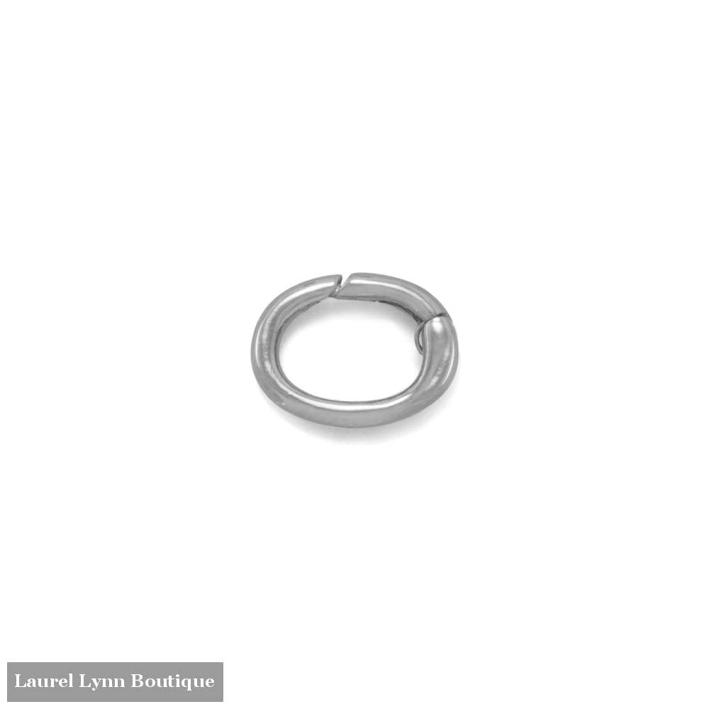 Rhodium Plated Adapter Component - Liliana Skye - Blairs Jewelry & Gifts