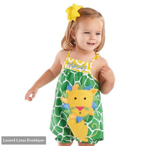 Safari Lion Romper by Mud Pie - Mud-pie
