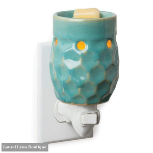 Small Wax Warmer - Honeycomb Turquoise - Candle Warmers - Blairs Jewelry & Gifts
