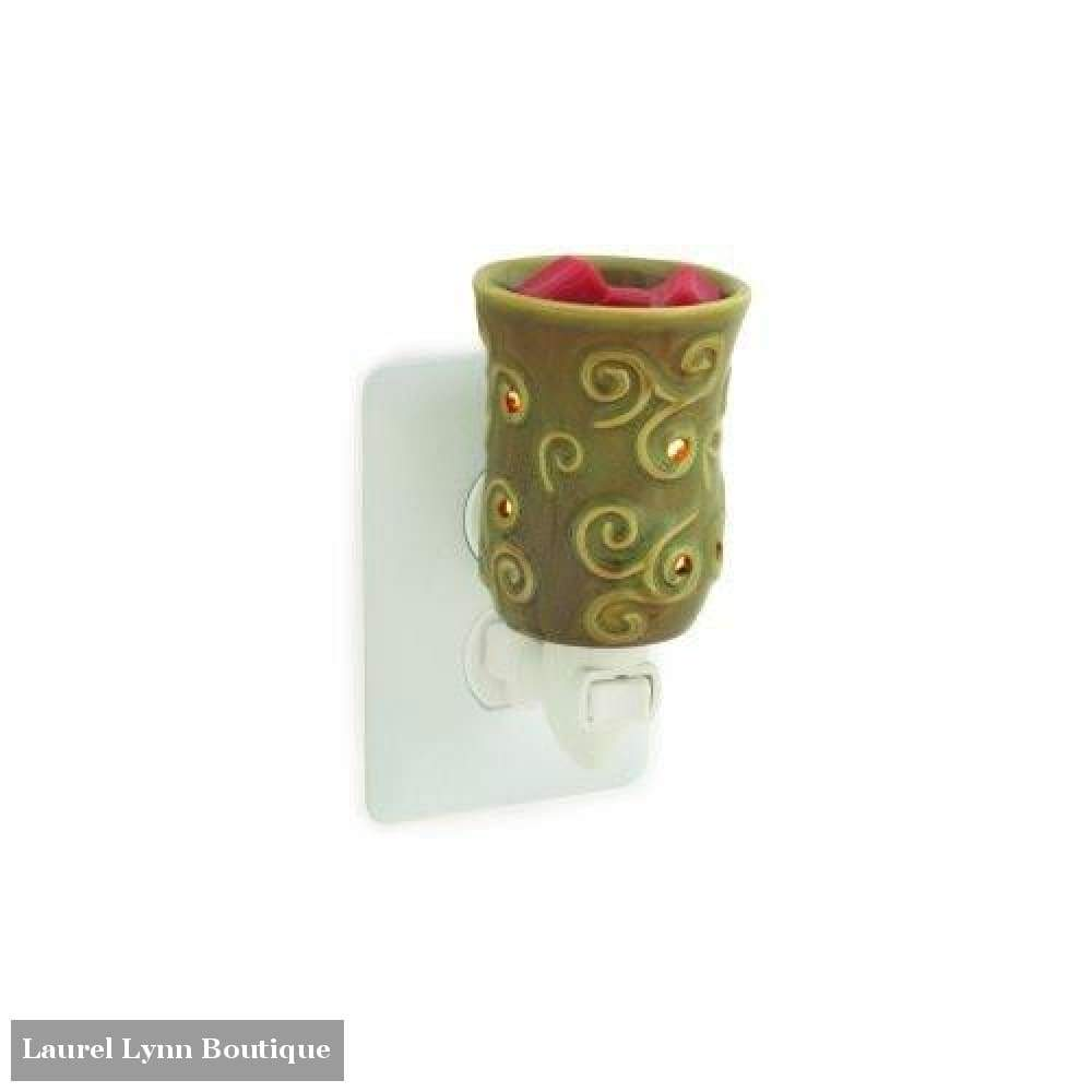 Small Wax Warmer - Moss - Candle Warmers - Blairs Jewelry & Gifts