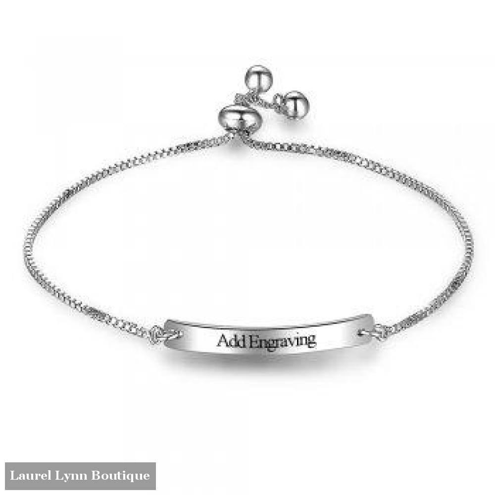 Stainless Steel Id Bracelet - Jewelora - Blairs Jewelry & Gifts