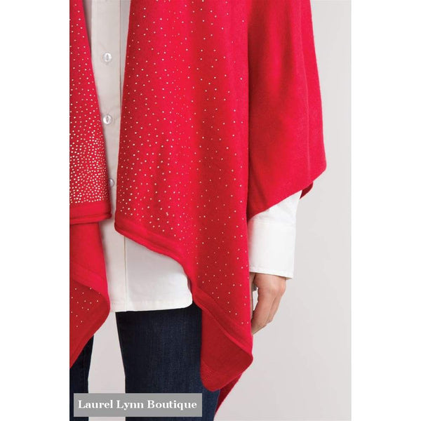 Starstruck Bordeaux Cardi Wrap - Simply Noelle - Blairs Jewelry & Gifts