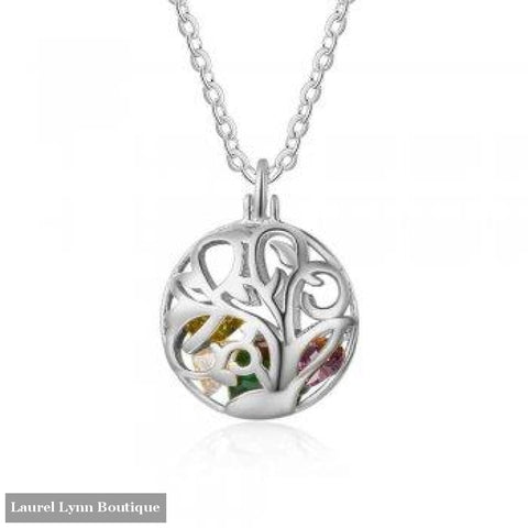 Sterling Silver Filigree Mothers Necklace - Ne102636 - Laurel Lynn Boutique