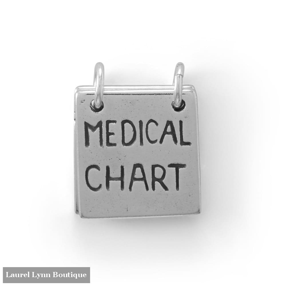 Take a Peak! Movable Medical Chart Charm - 74547 - Liliana Skye